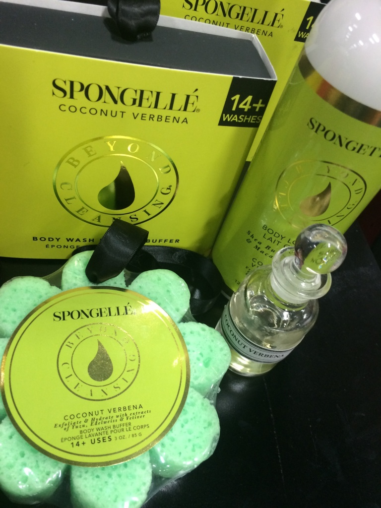 Spongelle infused bath goodies!