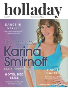 Lookbook:  Karina Smirnoff's Style, Her Dream Bed & Dance Lessons!