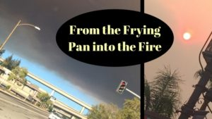 From the Frying Pan into the Fire: Wildfires, KonMari & Cool Summer Skincare