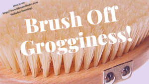 Body Brush Off + KonMari YouTube Fun: Holladay Mornings