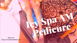 Get Cold Feet!  Energizing at Home Spa Pedicure Hack Quick Cooling Way to Wake Up On Sweaty Summer Mornings DIY